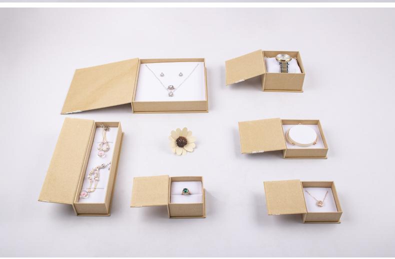 环保礼品盒珠宝盒纸盒可定制 冠琳包装