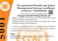 Occupational health and safety management system c